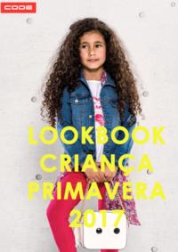 Catálogos e Coleções New Code Amadora - Venda Nova : Lookbook Criança primavera 2017
