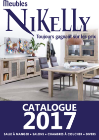 Catalogues et collections Meubles Nikelly : Catalogue 2017