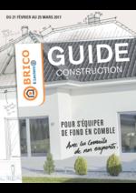 Guides et conseils Brico E.Leclerc : Guide construction