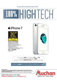 Prospectus Auchan MAUREPAS : 100% High Tech