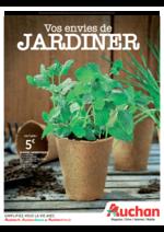 Prospectus Auchan : Vos envies de jardiner