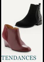 Catalogues et collections La Halle aux Chaussures : Craquez pour les chaussures tendances du moment
