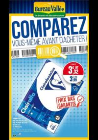Prospectus Bureau Vallée - Montrouge : Comparez vous même avant d'acheter !