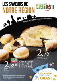 Prospectus Supermarchés Match Friant - Amiens : Les saveurs de notre région