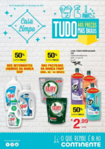 Folhetos Continente Modelo : Casa Limpa