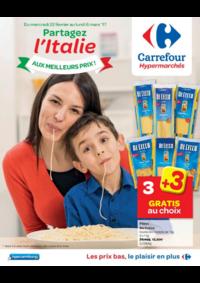 Prospectus Carrefour BERCHEM STE AGATHE : Partagez l'Italie aux meilleurs prix !