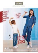Prospectus Gemo : Totally jeans