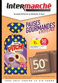 Prospectus Intermarché Super Buc : Pauses gourmandes à petits prix