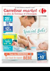 Prospectus Market BOURG LA REINE : Spécial bébé