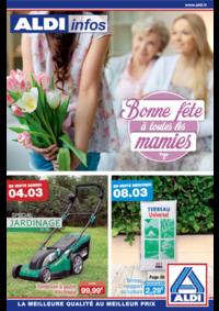 Prospectus Aldi Asnières-sur-Seine : Bonne fête à toutes les mamies