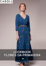 Catálogos e Coleções Caroll : Novo Lookbook: Fleurs de printemps
