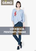 Catalogues et collections Gemo : Lookbook printemps femme
