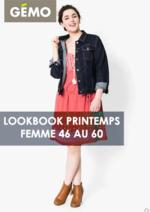 Promos et remises  : Lookbook printemps femme 46 au 60