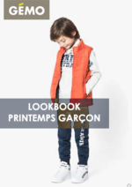 Catalogues et collections Gemo : Lookbook printemps garçon