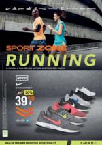Folhetos Sport Zone : RUNNING