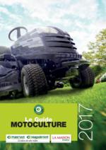 Guides et conseils Point Vert : Le guide motoculture 2017