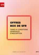 Catalogues et collections SFR : Offres Box de SFR