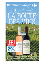 Prospectus Carrefour Market : La route des vins