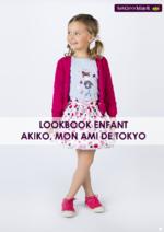 Promos et remises  : Lookbook enfant Akiko, mon ami de Tokyo