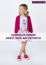 Catalogues et collections Sergent Major : Lookbook enfant Akiko, mon ami de Tokyo