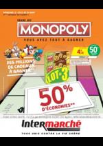 Promos et remises  : Grand jeu Monopoly vous avez tout à gagner