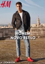 Promoções e descontos  : Lookbook homem novo estilo