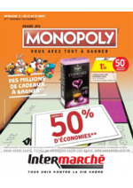 Prospectus Intermarché Express : Grand jeu Monopoly vous avez tout à gagner