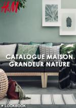 Catalogues et collections H&M : Catalogue maison Grandeur nature