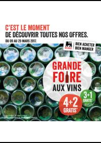 Prospectus Proxy Delhaize Saint-Ghislain : Grande foire aux vins