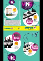 Prospectus Super U : Vins à prix malins