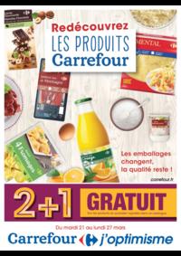 Prospectus Carrefour SAINT PIERRE DES CORPS : Redécouvrez les produits Carrefour