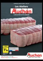 Promos et remises  : Les ateliers Auchan à découvrir cette semaine