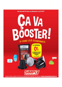 Prospectus Simply Market LOCHES : Ça va booster !