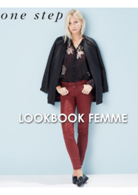 Catalogues et collections One step LE CHESNAY : Feuilletez le lookbook femme