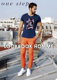Catalogues et collections One step PARIS C CIAL MONTPARNASSE : Feuilletez le lookbook homme