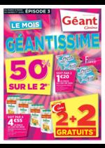 Prospectus Géant Casino : Le mois géantissime Épisode 3