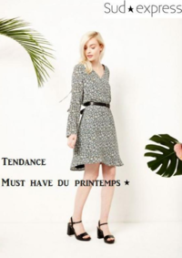 Catalogues et collections Sud express ST GERMAIN EN LAYE : Tendance Must have du printemps