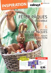 Prospectus Colruyt HALLE : Inspiration Pâques