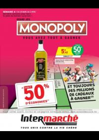 Prospectus Intermarché Express PARIS 4 : Grand jeu Monopoly vous avez tout à gagner Semaine 4