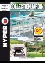 Prospectus Hyper U : Collection jardin spécial plein air