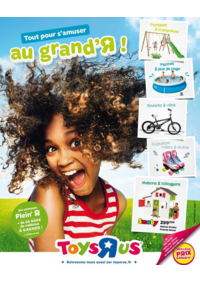 Catalogues et collections Babies R Us ÉRAGNY Centre commercial Art de Vivre : Tout pour s'amuser au grand'R !