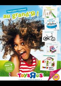 Catalogues et collections Babies R Us AULNAY-SOUS-BOIS CEDEX Centre Commercial Parinor : Tout pour s'amuser au grand'R !