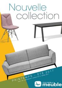 Catalogues et collections Monsieur meuble SAINT AVOLD : Nouvelle collection printemps été 2017