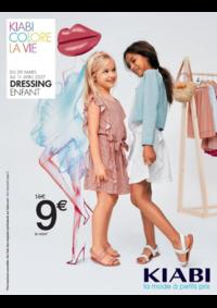 Prospectus Kiabi Argenteuil : Dressing enfant