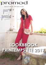 Catalogues et collections Promod : Lookbbook printemps été 2017