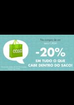 Promoções e descontos Casa : -20% em tudo o que cabe dentro do saco!