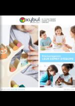 Catalogues et collections Oxybul Eveil & jeux : Encourageons leur esprit d'équipe