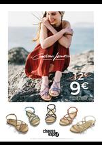 Promos et remises  : Sandales Tressées 9 € au lieu de 12 €