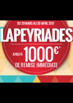 Promos et remises Lapeyre : Lapeyriades jusqu'à 1000€