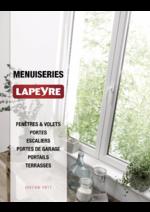 Promos et remises  : Catalogue Menuiseries 2017
